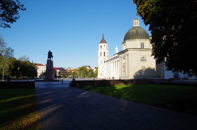 View of Cathedral Square