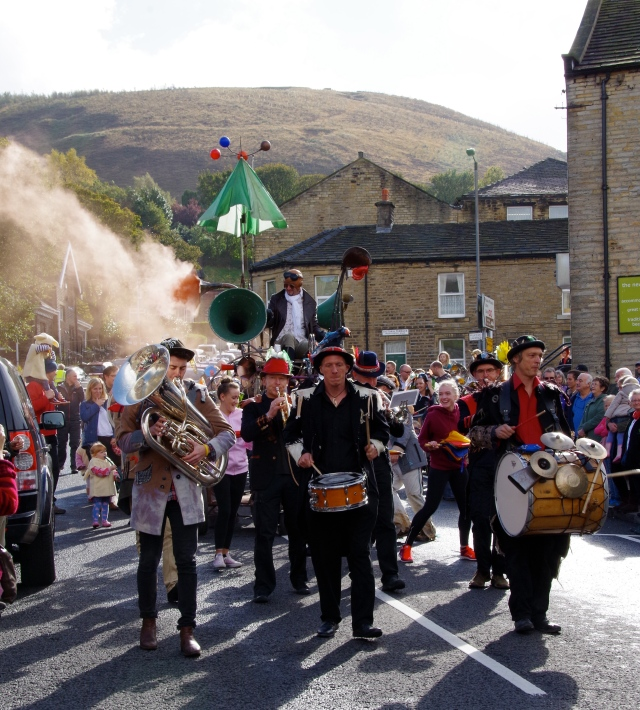 The Parade Assembles