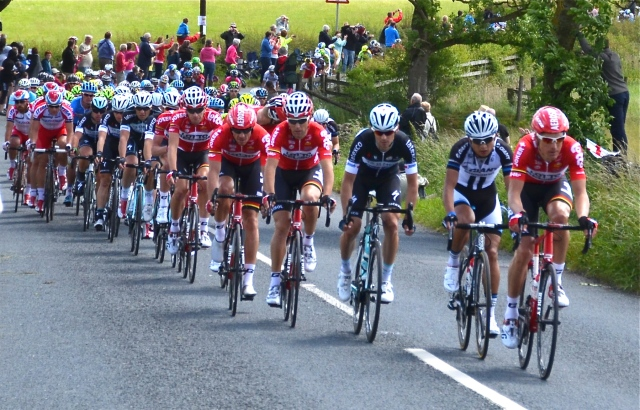 Le Tour comes to Yorkshire