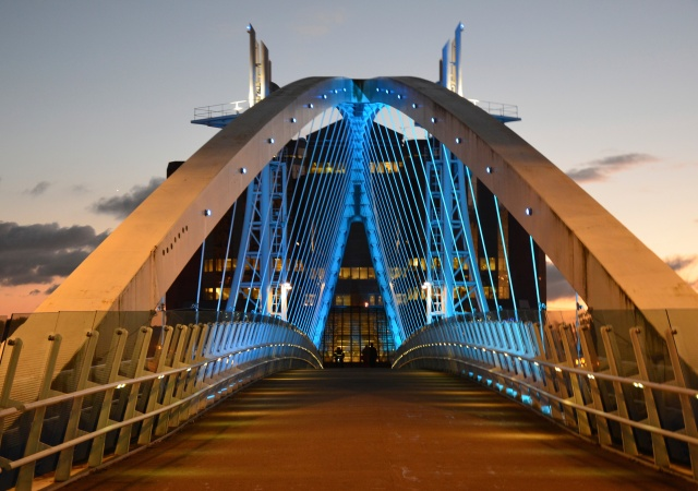 Bridge at Salford Quays