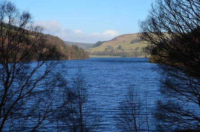 View along the reservoir