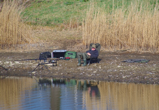 Fishing can be a demanding and stressful sport!