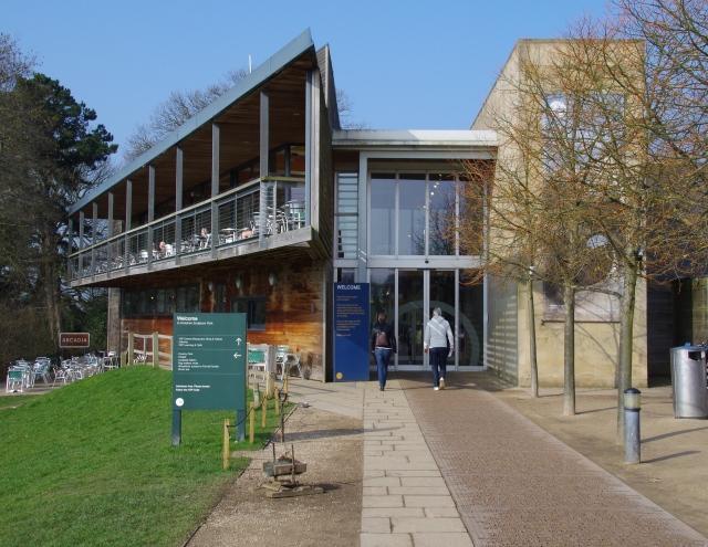 The main visitors centre.