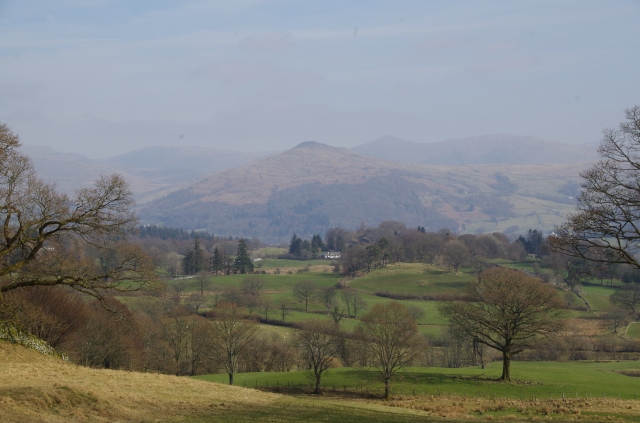 Valley view of the fells.