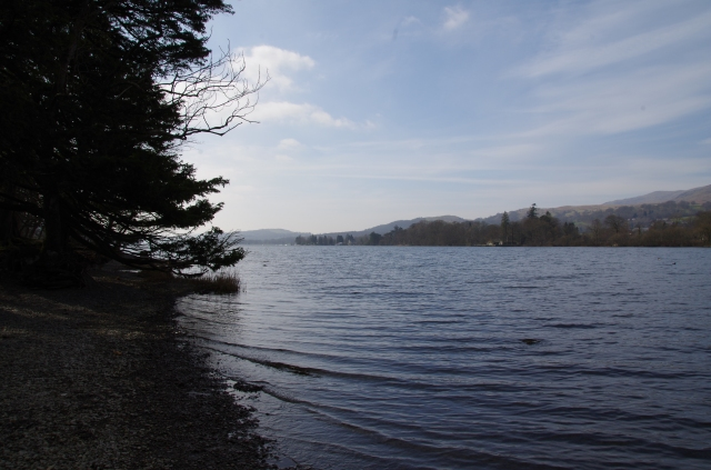Edge of Coniston Water