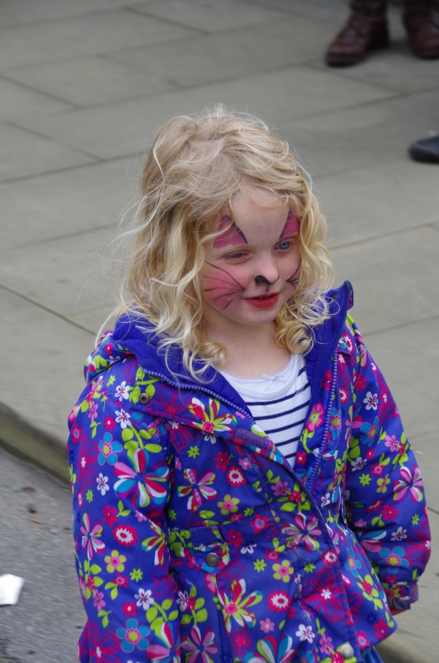 Face Painting..............she's a mouse!