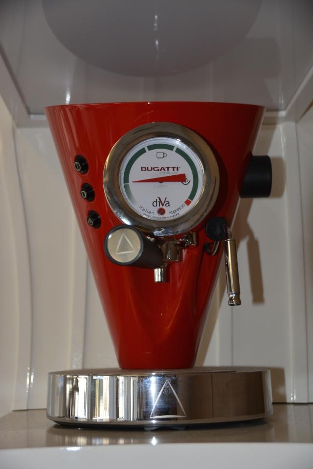 Bugatti espresso maker