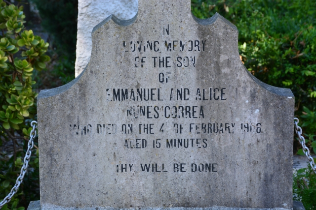 Possibly one of the saddest things you will ever read in a graveyard