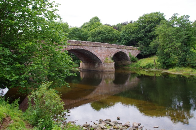 Bridge across the River Eden at Armathwaite