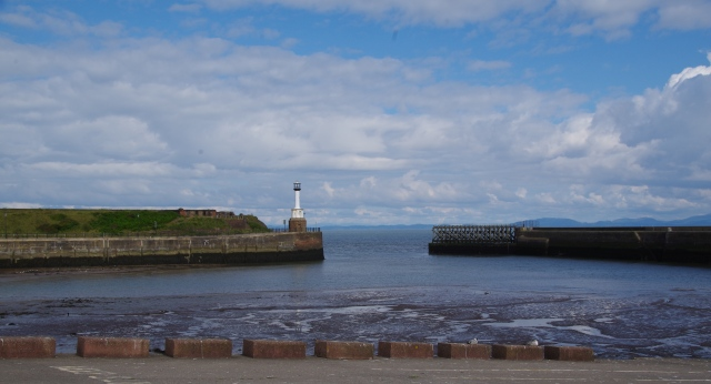 View from Maryport across the Solway Firth