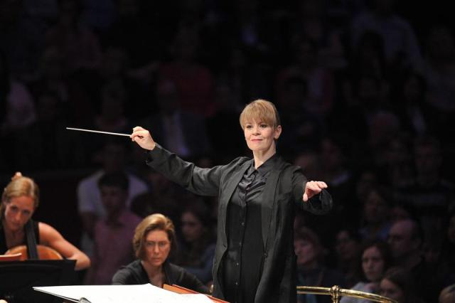 Conducting the BBC Symphony Orchestra at the Proms