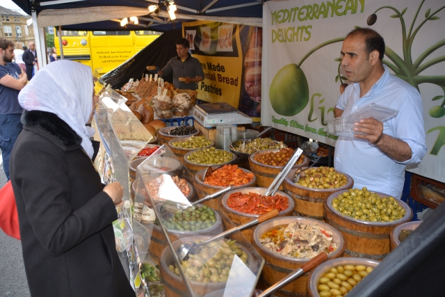 Now thats what I call a selection of olives!