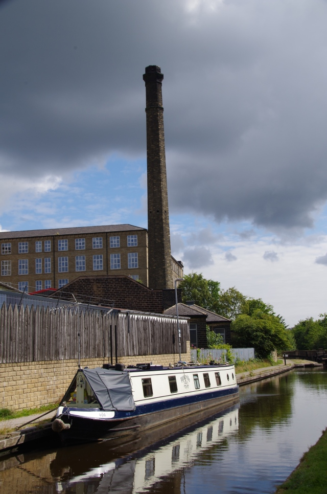 The old chimney at canal side