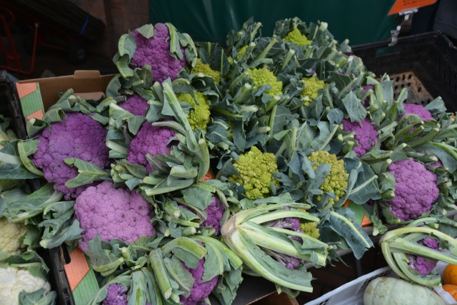 Multi coloured veg..........
