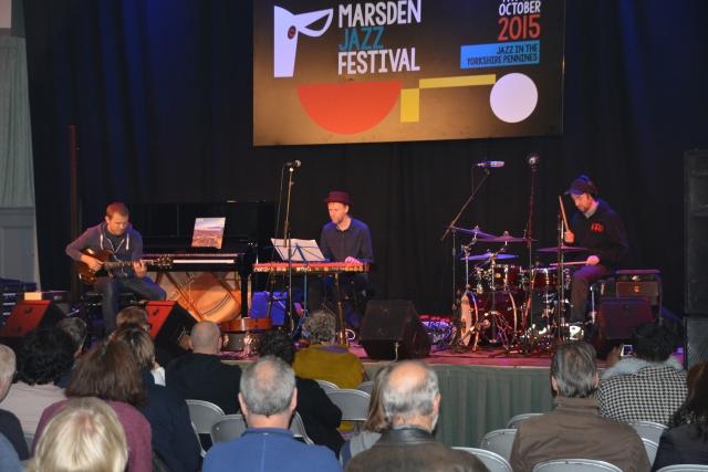 An appreciative audience for the Stuart McCallum Trio