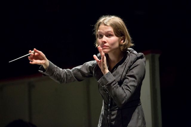 Mirga Grazinyte-Tyla. Foto: Philipp Zinniker