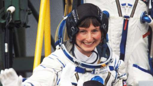 Helen Sharman, first Briton in space