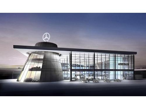 Mercedes Benz HQ, Stuttgart